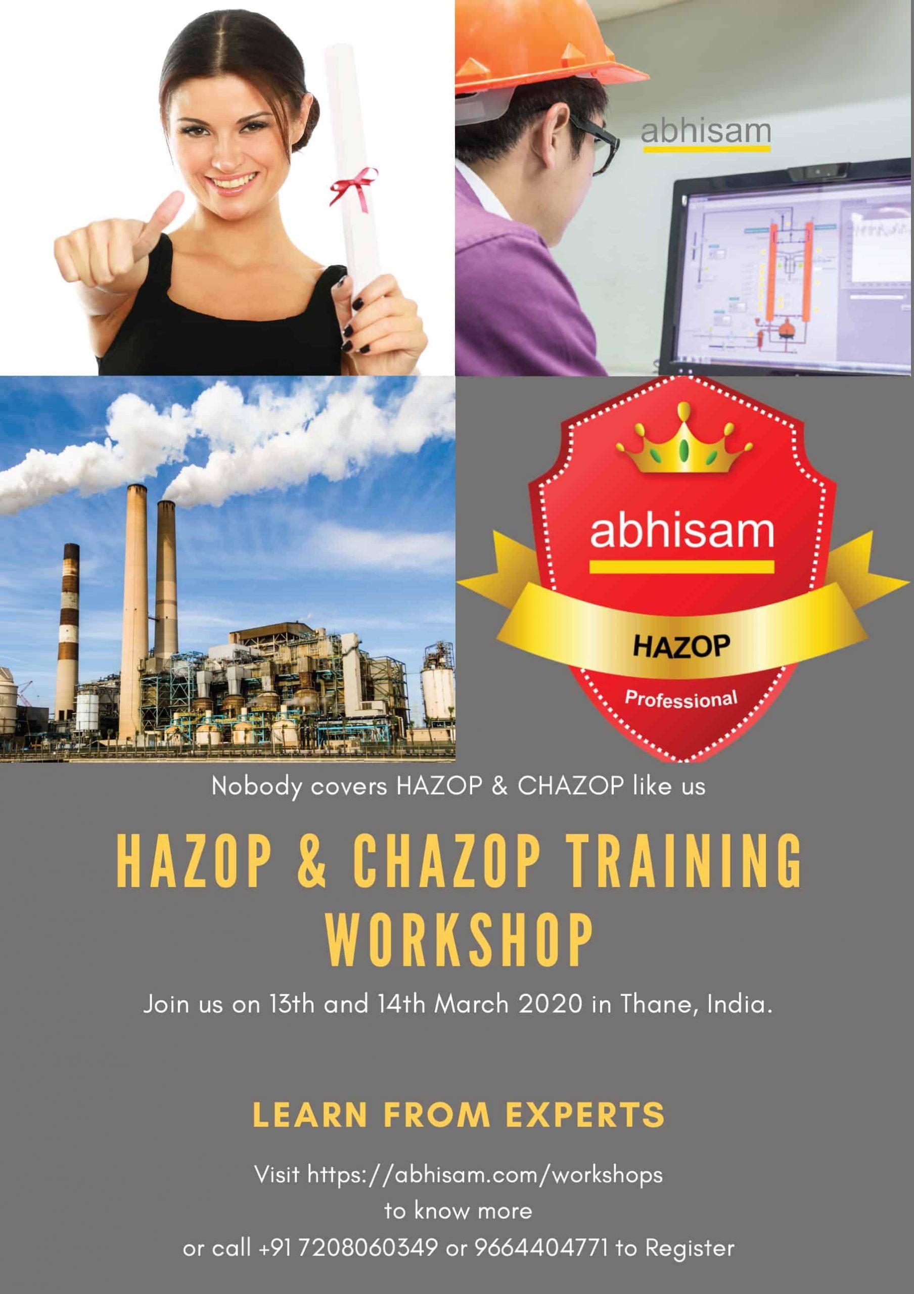 Abhisam HAZOP and CHAZOP Workshop