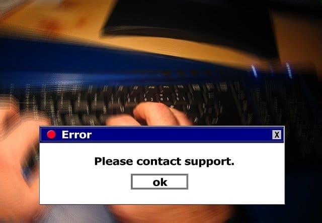 Control System Error CHAZOP