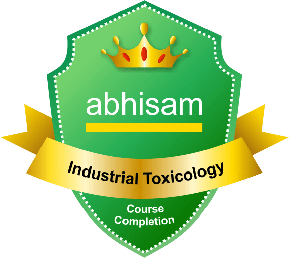Industrial Toxicology Badge