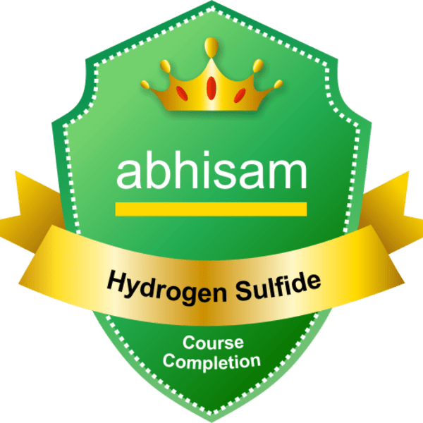 Hydrogen Sulfide Course Electronic Badge