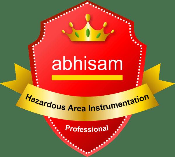 Abhisam Hazardous Area Instrumentation Certification