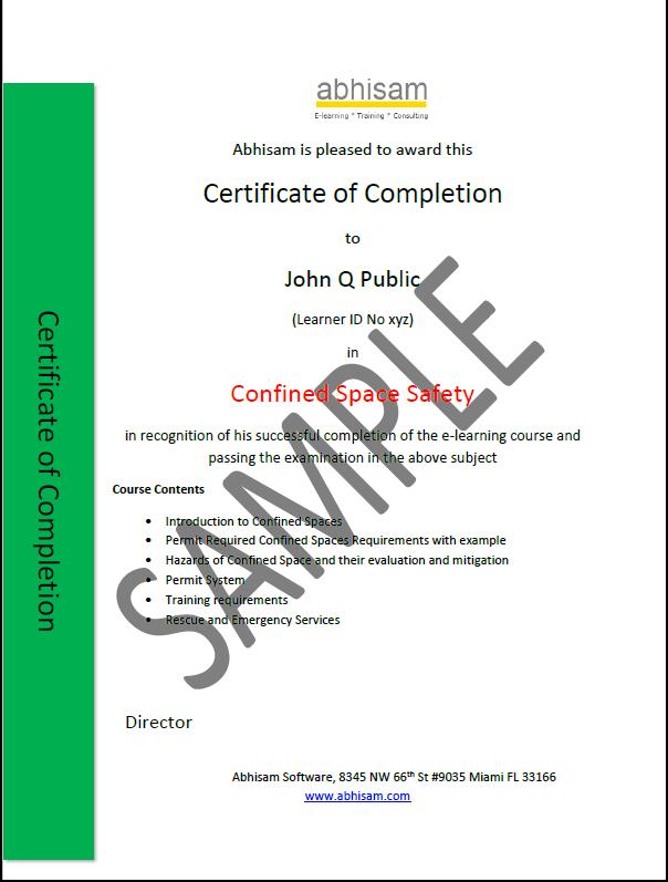 AbhisamSampleCertificateConfinedSpaceSafety