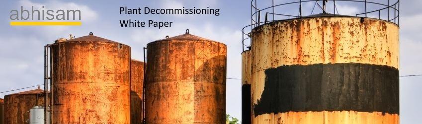 Plant Decommissioning White Paper-Abhisam