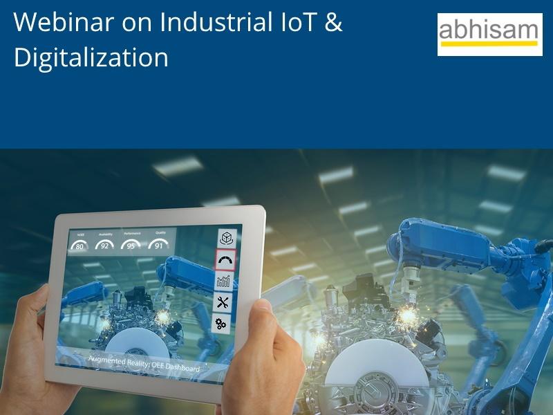 Industrial IoT Digitalization webinar