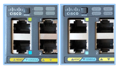 Real and Fake CISCO switch