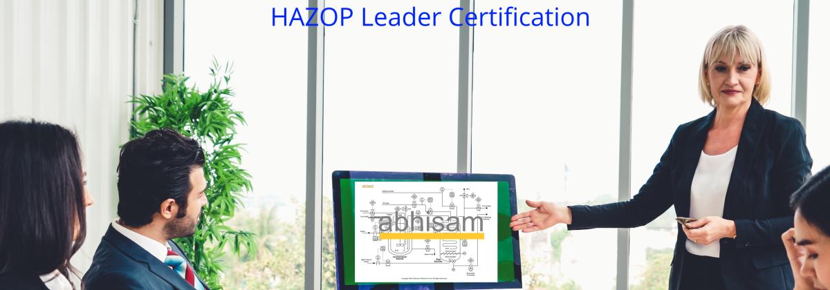 HAZOP Leader Certification