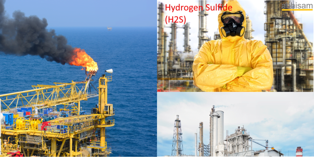 Hydrogen Sulfide gas